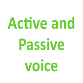Active and Passive voice. Present, Future and Past Simple Passive