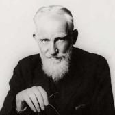 The harder I work …  G. Bernard Shaw