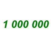 Numbers 30-1000000. Числа 30-1000000
