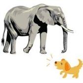 Слон и Моська. Иван Крылов