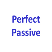 Perfect Passive. Modal verbs and Passive Infinitive.
