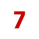 Números del 7 al 12. Числа от 7 до 12
