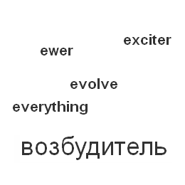 Буква E. Each, early ... eyelid.