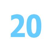 veinte - 20