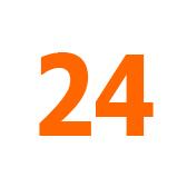 veinticuatro - 24