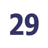 twenty nine - 29