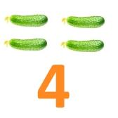 Цифры 4, 5: Занимательная математика