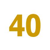 cuarenta - 40