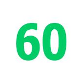 kuusikymmentä - 60