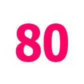 ottanta - восемьдесят