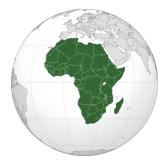 Африка: География