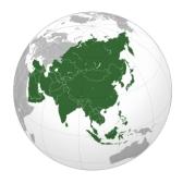 Азия: География