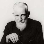 The harder I work …  G. Bernard Shaw