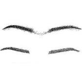 eyebrow   - бровь