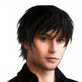 dark-haired - брюнет, тёмноволосый