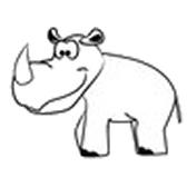 sarvikuono - носорог
