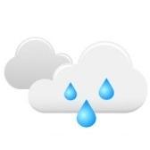 Llueve mucho aquí. Здесь часто идёт дождь.