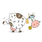 cash cow - надёжный источник денег, дойная корова