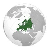Европа: География