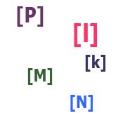 Согласные звуки [l], [m], [n], [p], [k] испанского языка