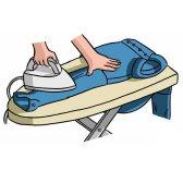 iron - гладить