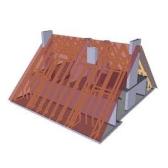 Коридор, сад, крыша