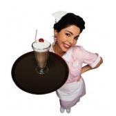 kelnerka - официантка