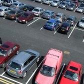 parcheggio - парковка
