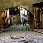 alley - переулок