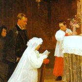first communion - первое причащение (католический праздник и ритуал)