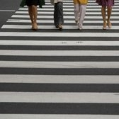 zebra crossing - пешеходный переход