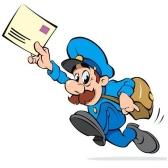 cartero - почтальон