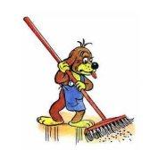 sweep - подметать