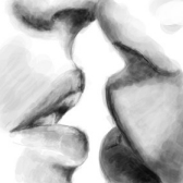 kiss - целовать