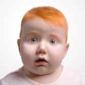 red-haired - рыжий