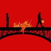 burn - жечь, сжигать