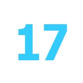 diciassette - семнадцать