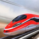 speed train - скоростной поезд
