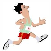 deportista - спортсмен
