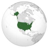 США: География