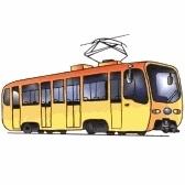tram - трамвай