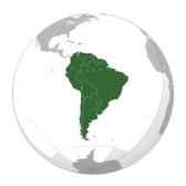 Южная и центральная Америка: География