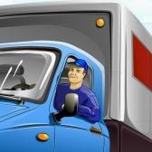 camionero - водитель грузовика