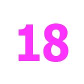 diciotto - восемнадцать