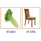 Juego: Color, Verduras, Muebles