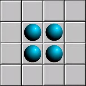 4 ячейки