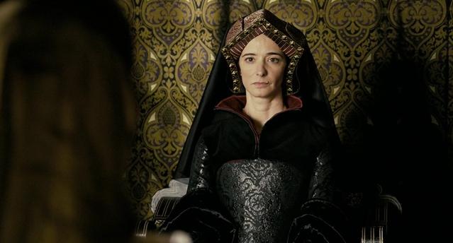 Екатерина в фильме «Еще одна из рода Болейн»