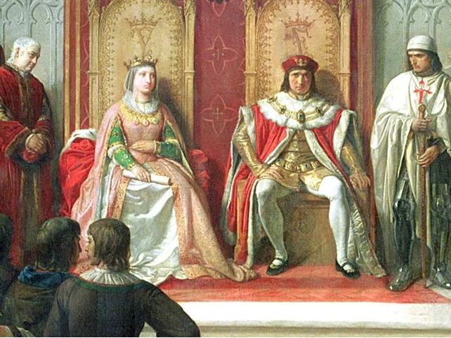 Короли Фердинанд и Изабелла — родители Испанского государства
