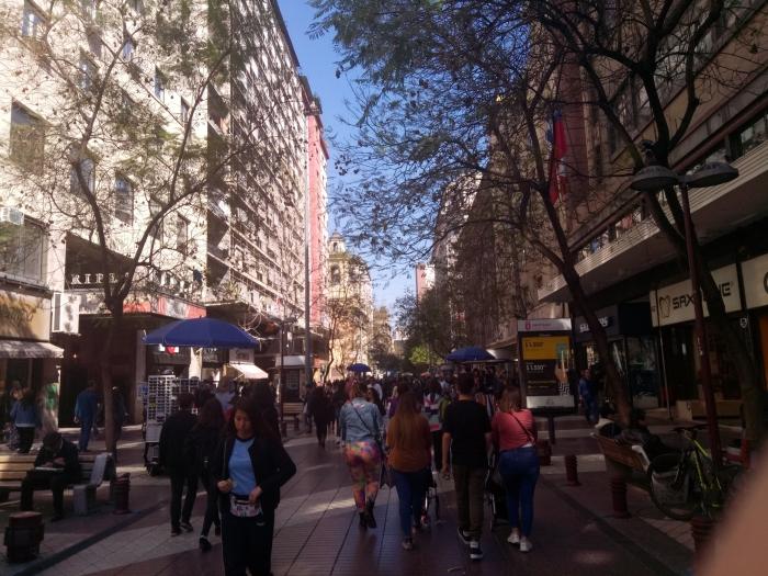 Одна из улиц в центре