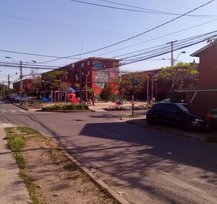 Одна из улиц в Сан Мигель